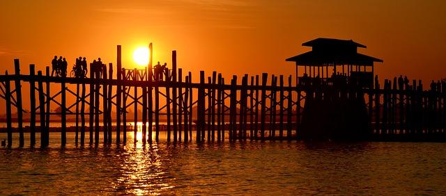 Circuit Birmanie Pont Ubein