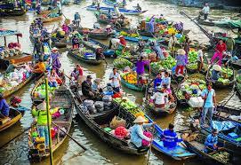 marché Cai Rang