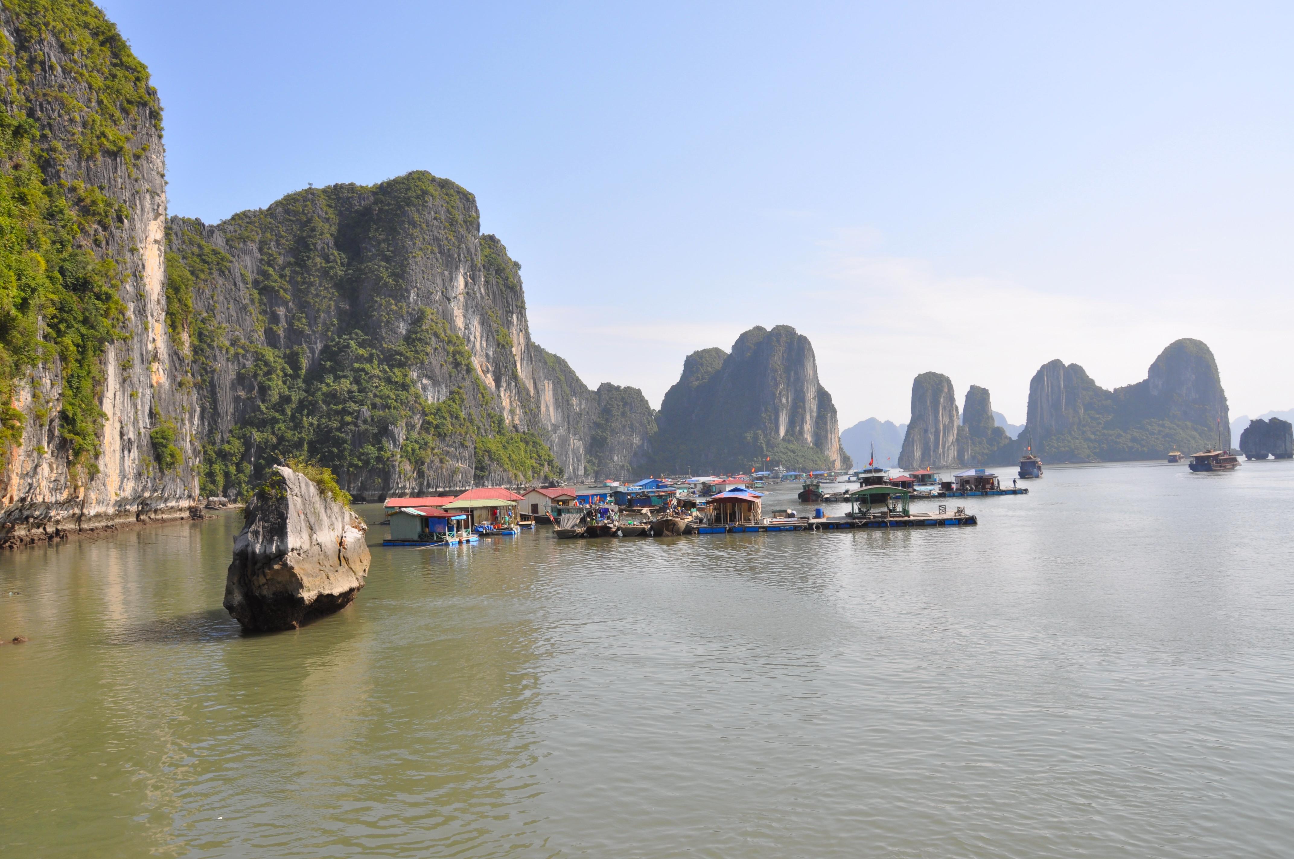 Voyage nord Vietnam hors es sentiers battus Baie d'Halong