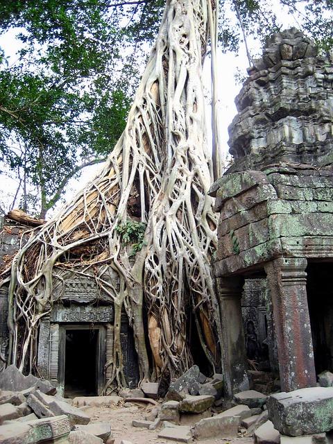 Circuit Vietnam en petit groupe temple angkor