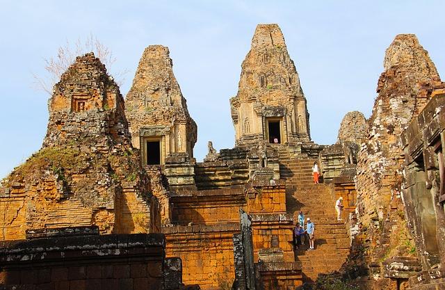 Circuit petit groupe Cambodge Laos Pre rup
