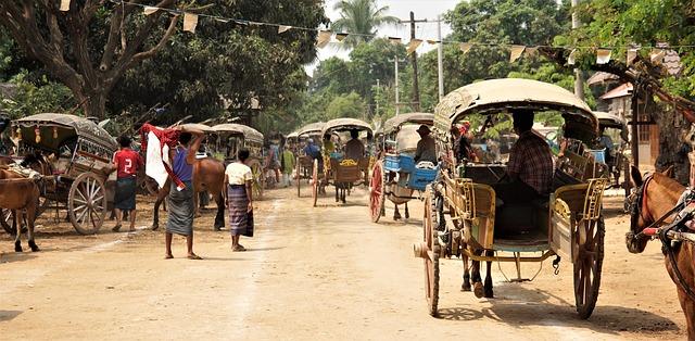 Circuit Myanmar sur mesure vie locale