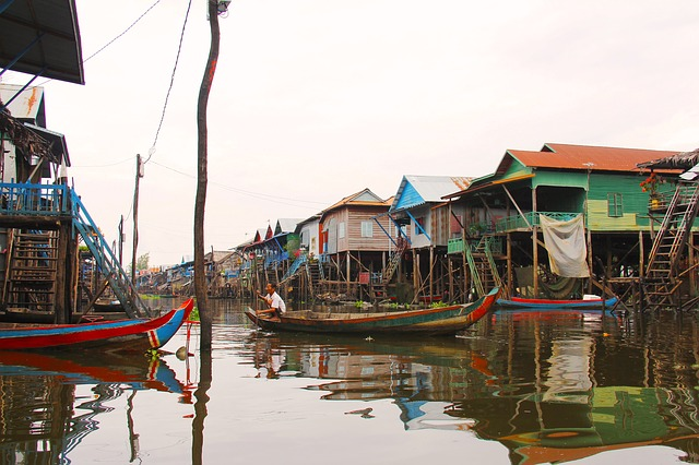 Circuit petit groupe Cambodge Laos Tonle sap