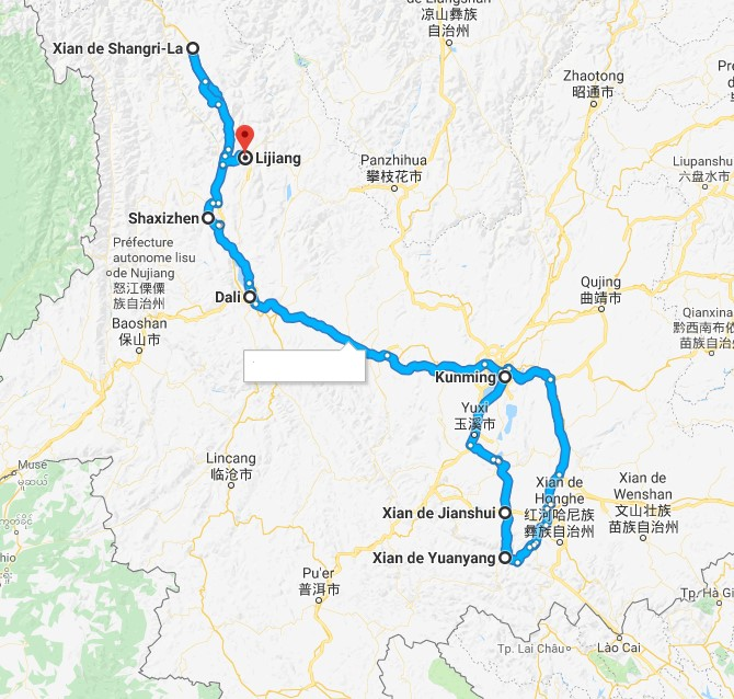 Circuit Chine Secret du Yunnan