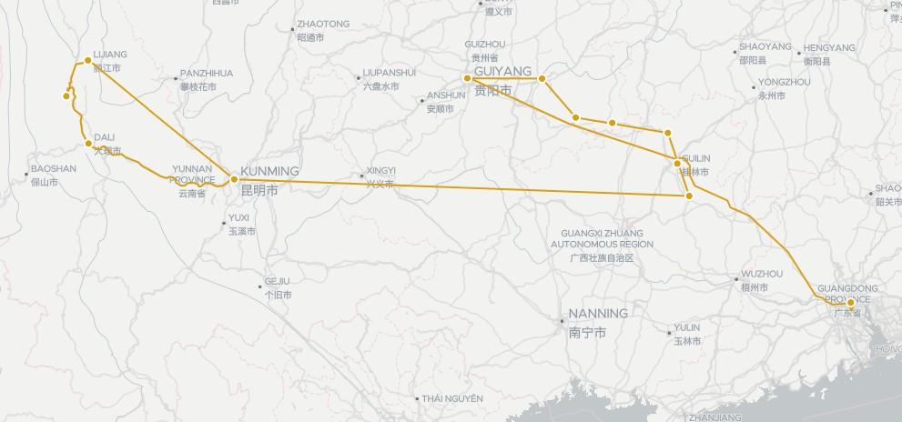 Circuit Chine du Sud