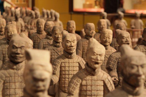Circuit Chine armée en terre cuite chine