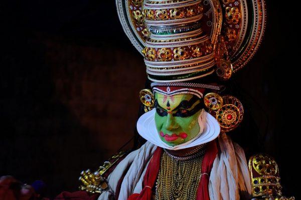 Circuit Inde du Sud danses kathakali