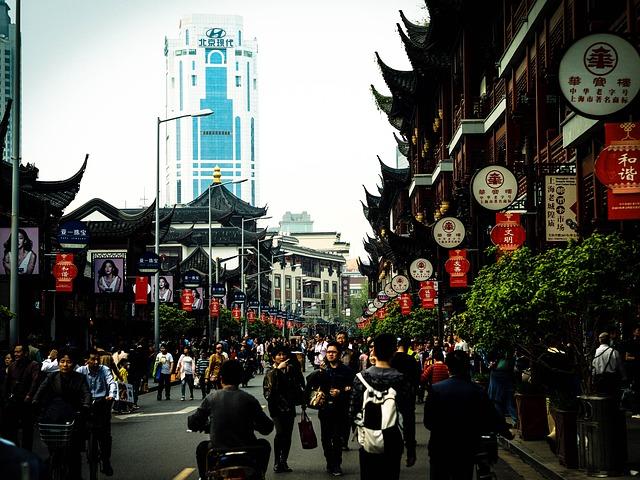 Voyage Chine CE bunds shanghai