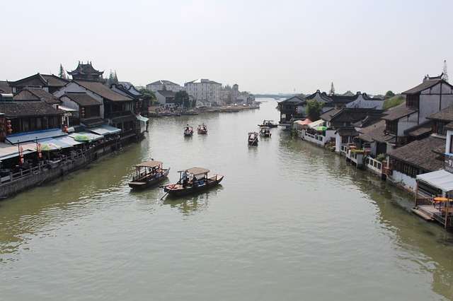 Voyage Chine CE petite Venise shanghai