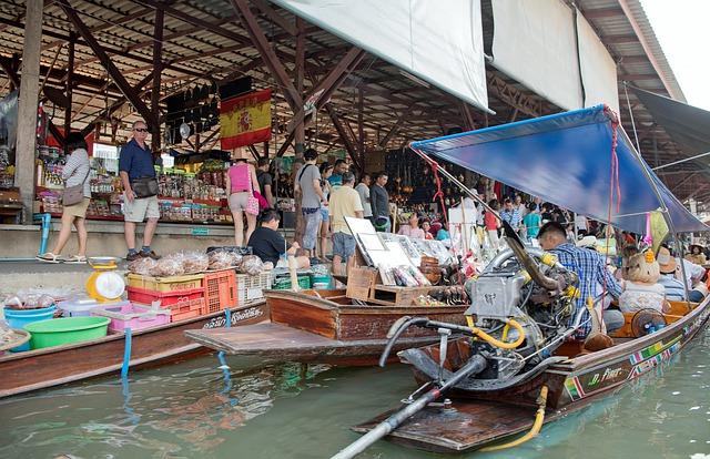 Circuit Thailande Damnoen saduak bangkok